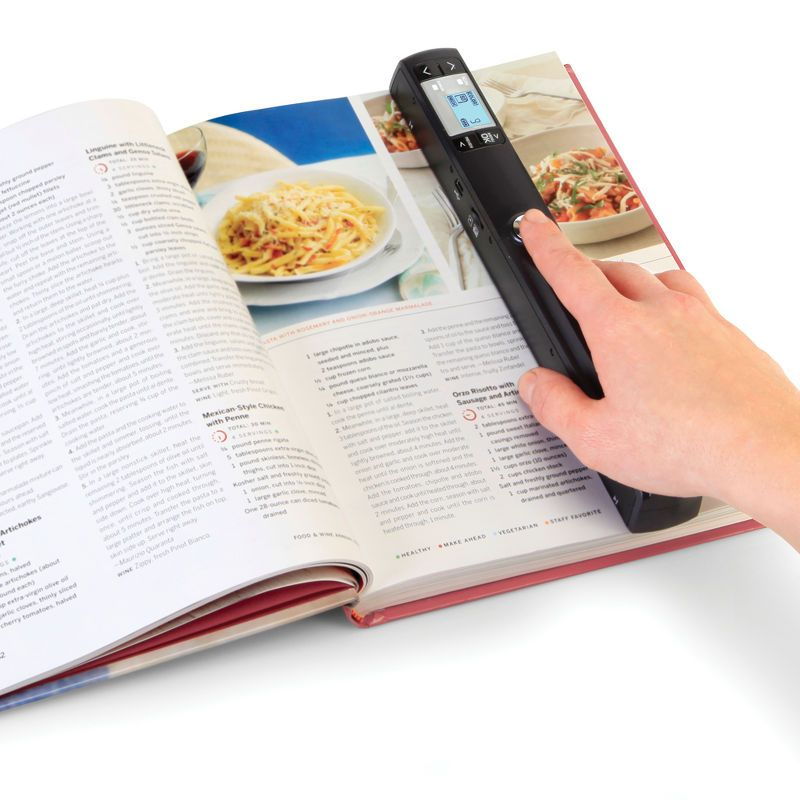 The High Resolution Portable Handheld Scanner.