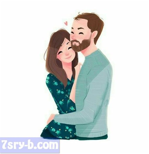 Pin By 7srey On صور حب Couple Illustration Love Illustration Cute Couple Art
