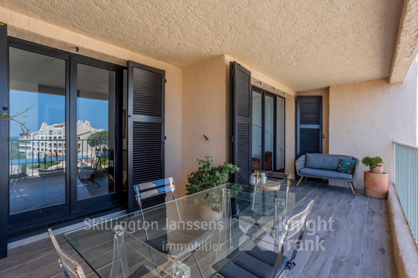 Superb Apartment For Sale In Les Marines De Cogolin Janssens Immobilier Provence Apartments For Sale Bright Living Room Small Buildings