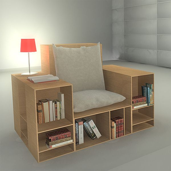 Soluciones para optimizar espacio proyectos que debo - Muebles inteligentes ...