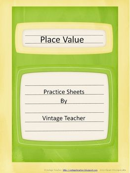 "Here's a set of worksheets that deals with whole numbers.   ""Tree""mendous Rounding has students rounding the whole numbers on the trees to the designated place value.  Can You Identify It? requires students to identify the place value of the underlined digit and to give its value.  Delivering Numbers requires students to read the word form and to write the standard form of the number."
