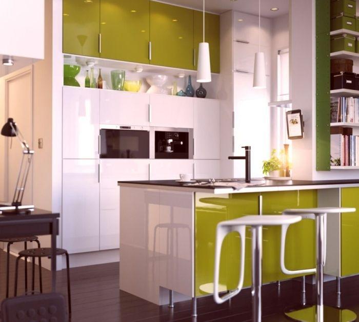 Kleine Küchen einrichten Kleine Räume stellen die   Kleine ...