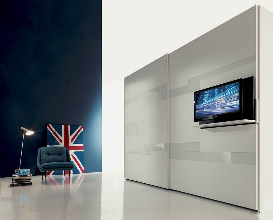 porta tv armadio | Furniture ID | Pinterest | Tv rack, Italian ...