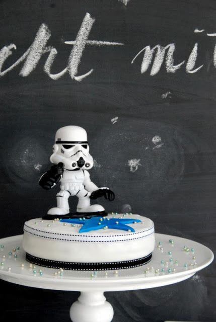 Liebesbotschaft: Starwars Birthday Party