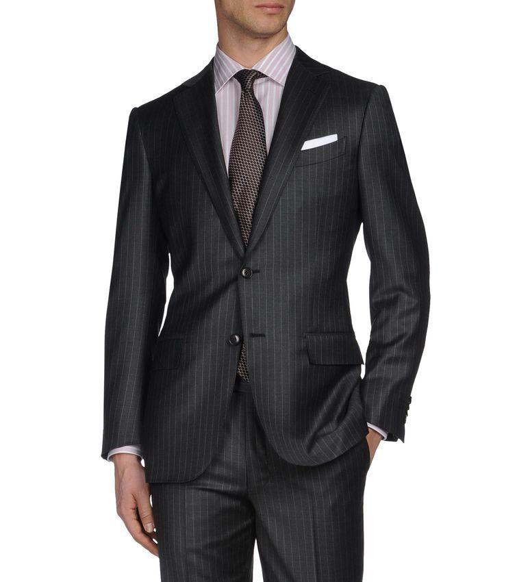 Costume Serge de laine 2 boutons Double fente p Noir 100% laine (49118159AB) 1f0b8776a8c