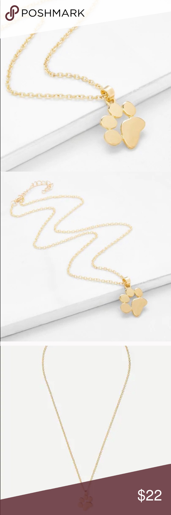 Photo of Dainty Dog Lover Pendent Necklace Available in gold and silver! The cutest littl…