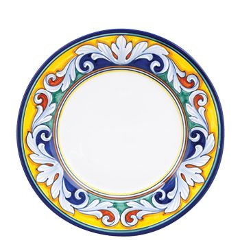 VIETRI - Umbria Medici Dinner Plate Mix 3 place settings of Deruta Medici Pavone and Ornato for a total of 12 place settings.  sc 1 st  Pinterest & VIETRI - Umbria Medici Dinner Plate: Mix 3 place settings of Deruta ...