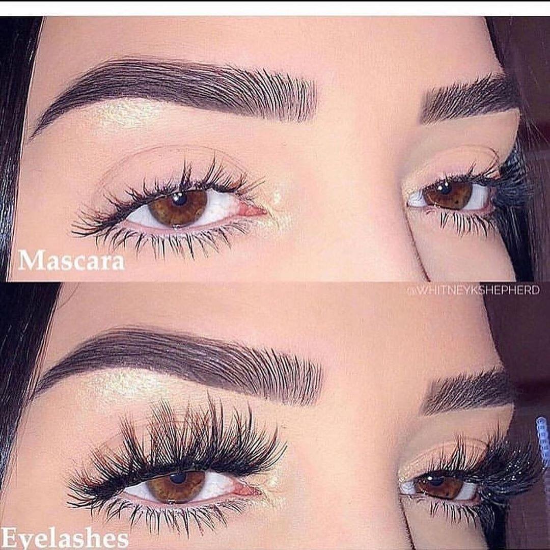 Mascara or Eyelashes ....(swipe)...