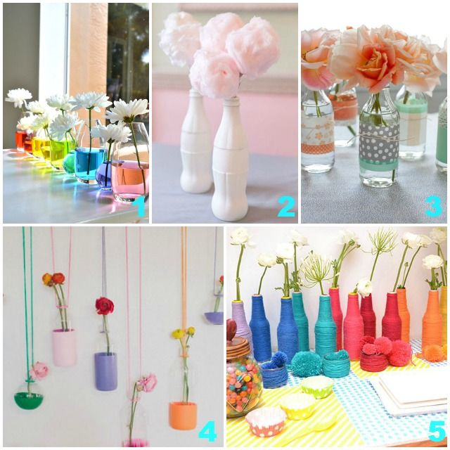 diy vases originaux pas cher sur mariage pinterest la bouteille. Black Bedroom Furniture Sets. Home Design Ideas