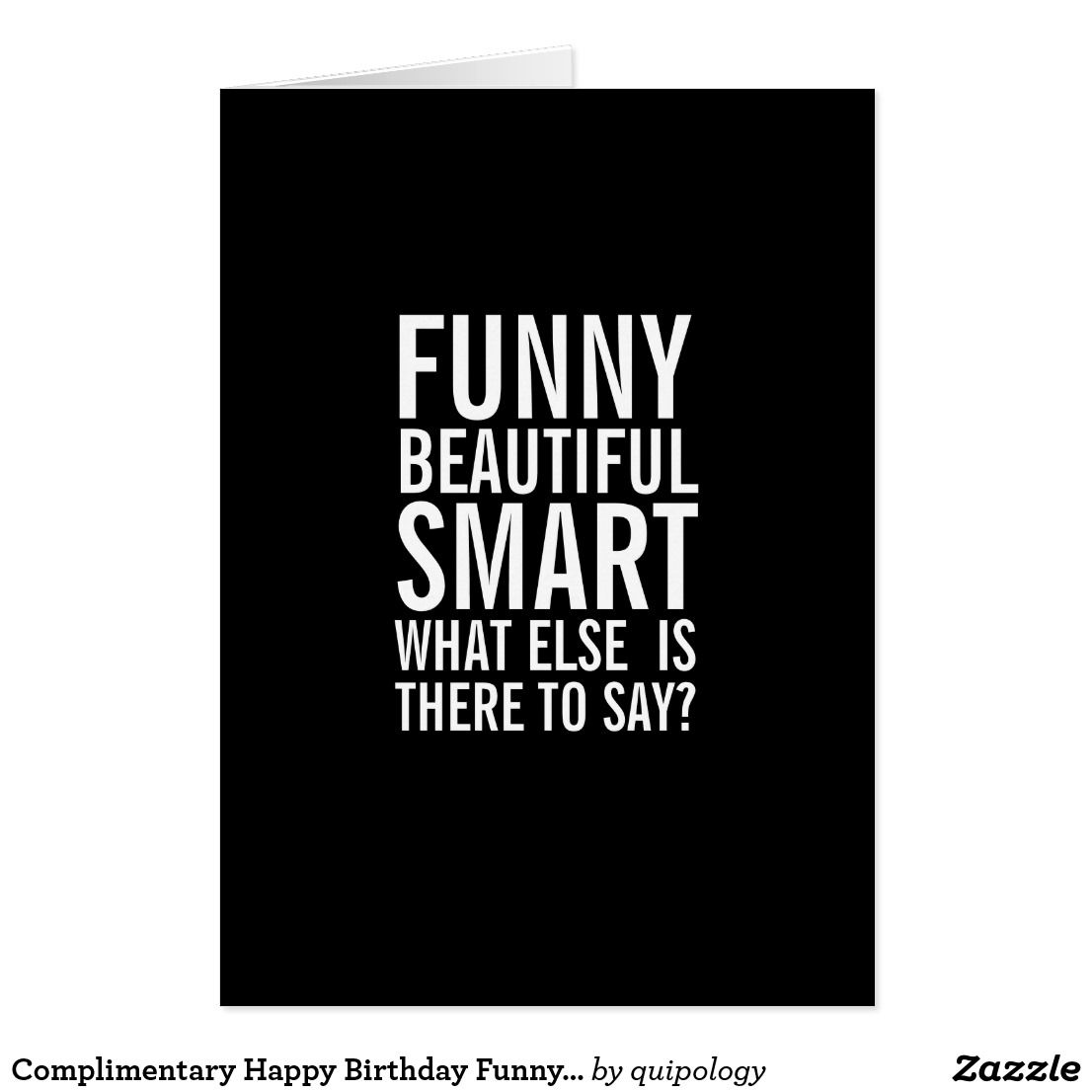 Complimentary Happy Birthday Funny Greeting Card Happy Birthday