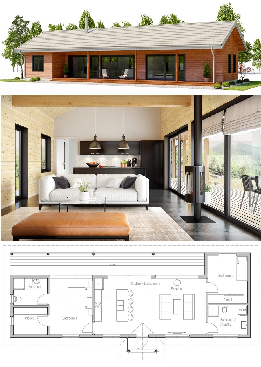 Tiny House Plans Small House Plans Smallhouseplans Tinyhouseplans Smallhouse Plan Petite Maison Plan Construction Maison Plan Maison Bois