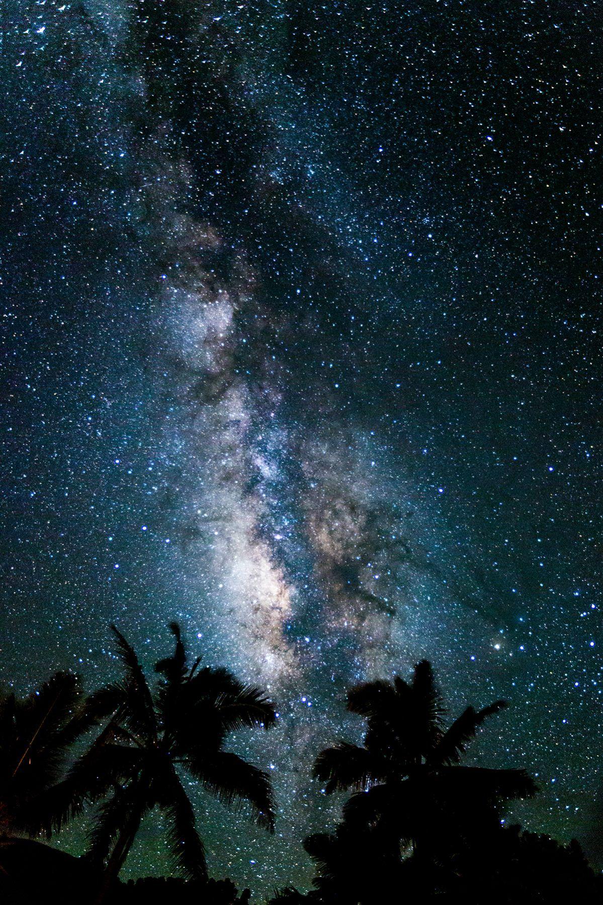 Sky stars night