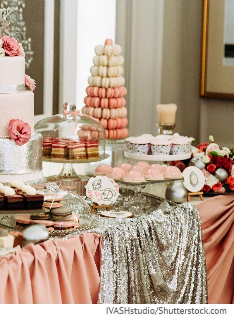 Candy Bar auf einer Hochzeit für russische Hochzeiten