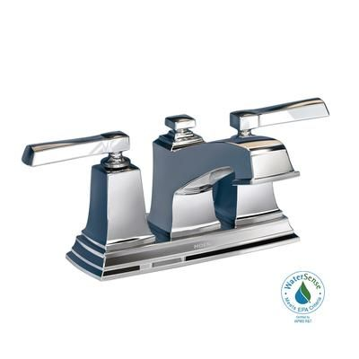 Moen Boardwalk 2 Handle Bathroom Faucet Chrome Finish 84800