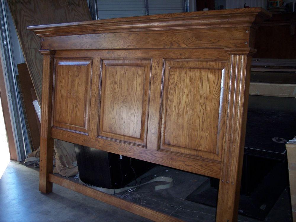 Thomasville Furniture Urban Retreat Mantle King Headboard In Oak Finish