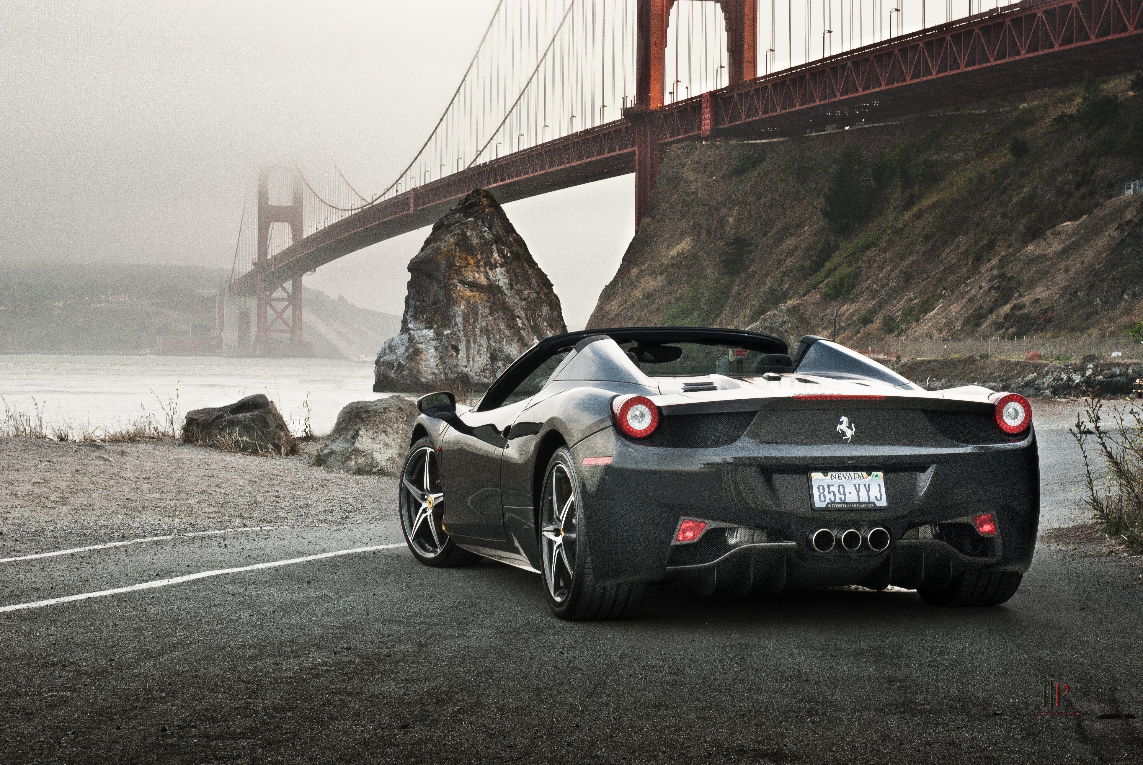 Ferrari 458 Spider Wallpaper For Desktop Background 3872x2592 3010