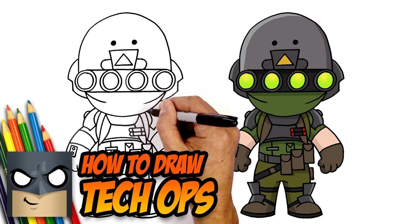How to Draw Fortnite in 2020 Cartooning 4 kids, Easy