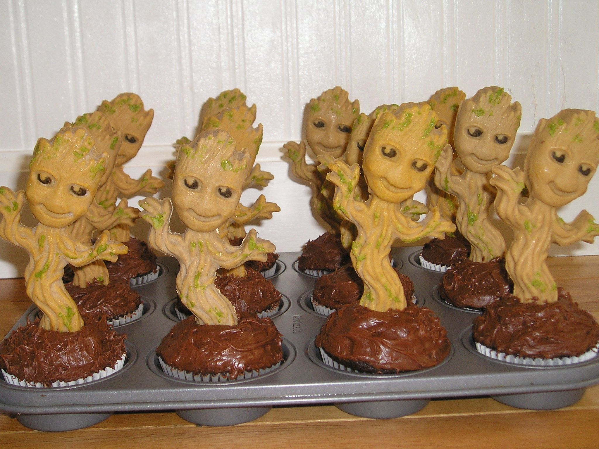My Delicious Babies Groots Made From Candy Melts And Food Coloring