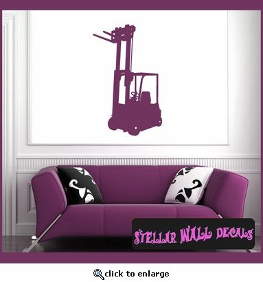 Vehicles Forklift NS006 Wall Decal - Wall Sticker - Wall Mural SWD