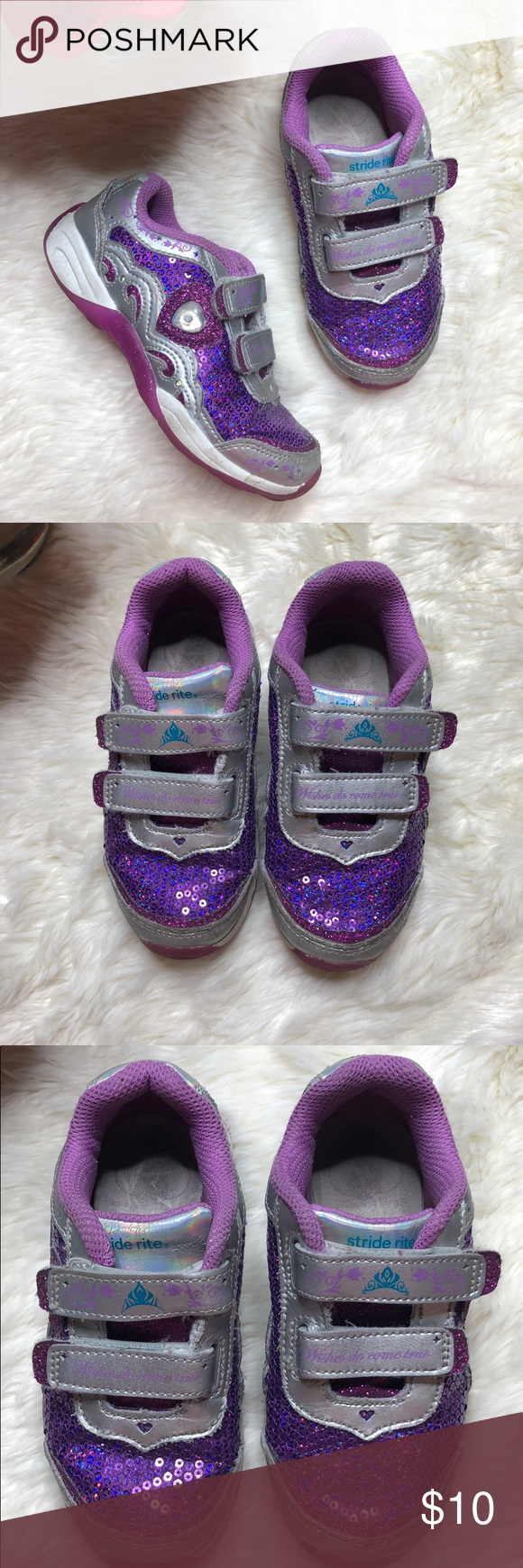 Stride Rite Disney Frozen Velcro Shoes