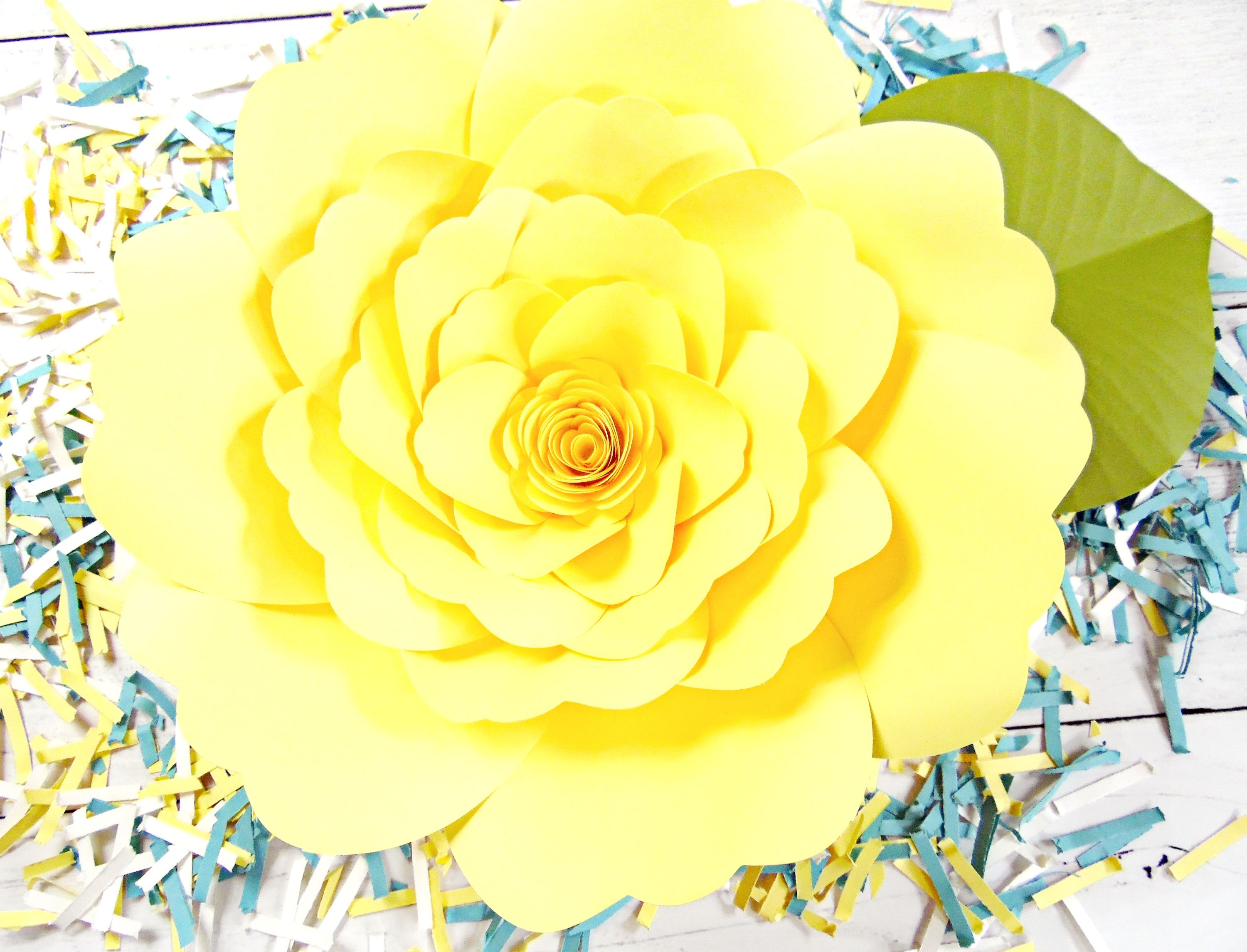 Learn how easy it is to make large paper flowers in this giant paper learn how easy it is to make large paper flowers in this giant paper flower tutorial diy giant paper flowers are perfect for backdrops for a wedding mightylinksfo Choice Image