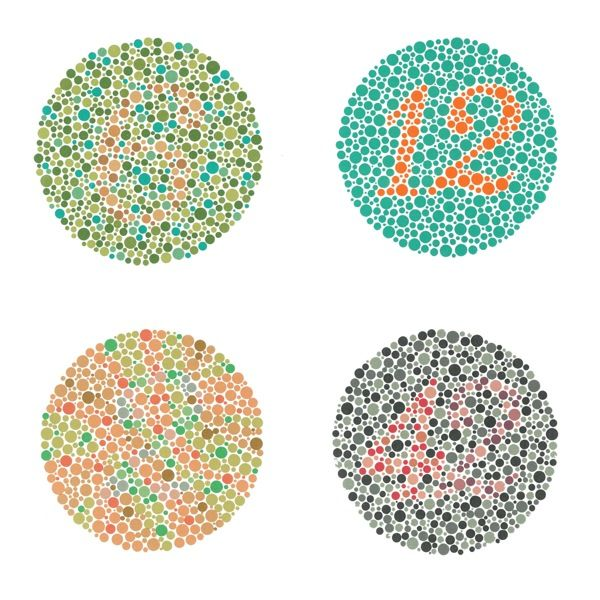Ishihara plates - glasses that give color blind people ability to ...