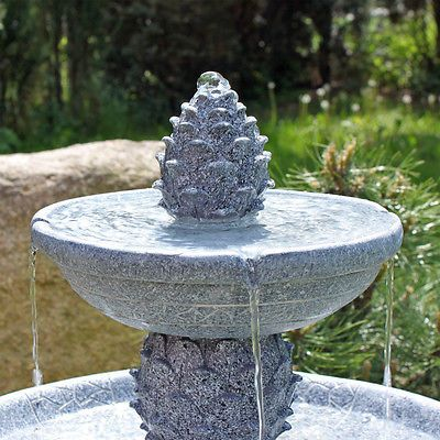 solar springbrunnen garten brunnen gartenbrunnen gartenspringbrunnen wasserspiel springbrunnen. Black Bedroom Furniture Sets. Home Design Ideas