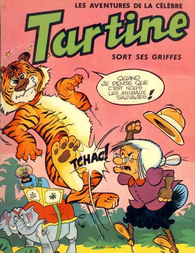 livre bd tartine