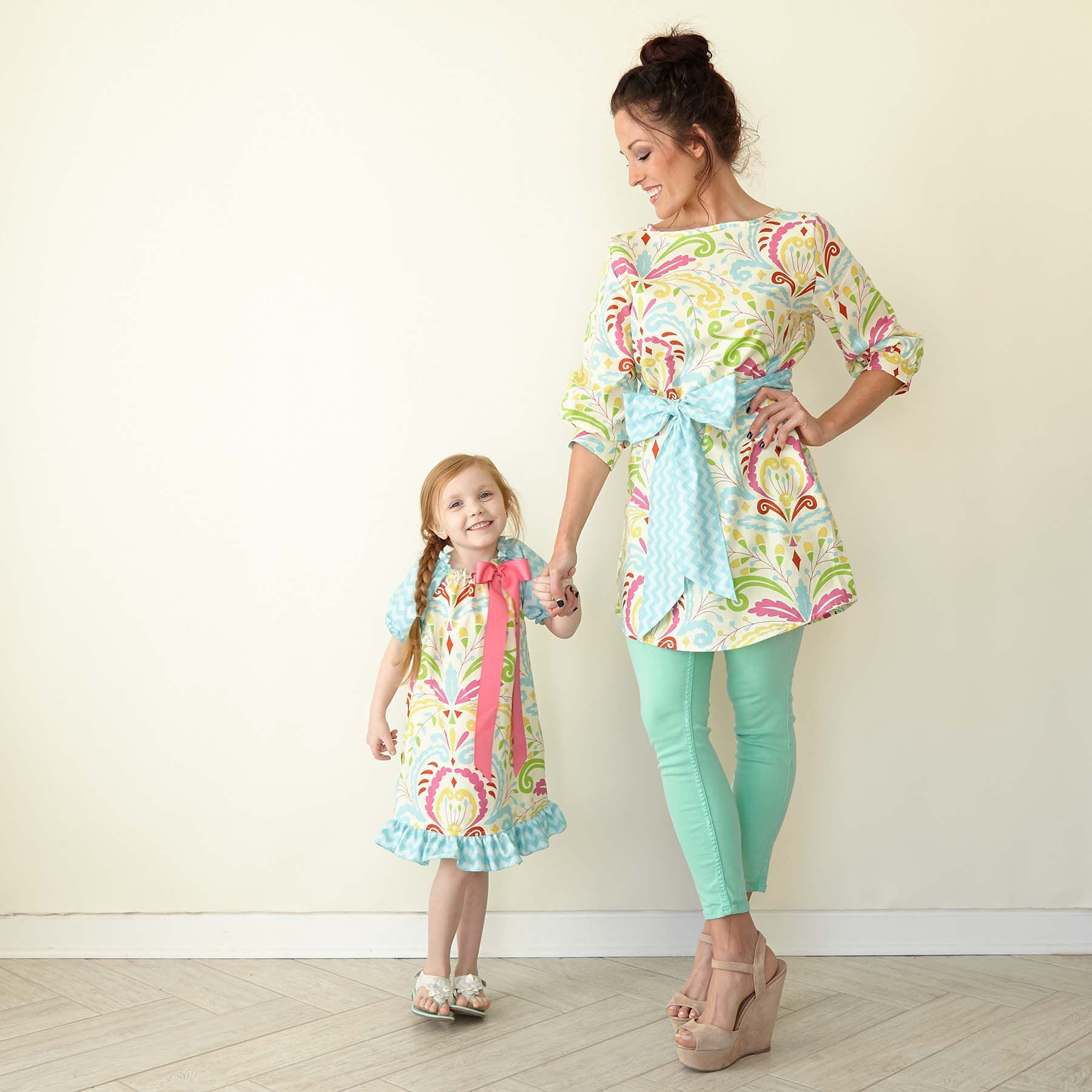 mommy and me matching for easter click on photo to shop