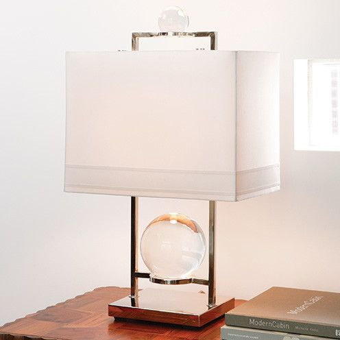 Global Views Fortune Teller 24 H Table Lamp With Rectangular Shade Table Lamp Lamp Table Lamp Lighting