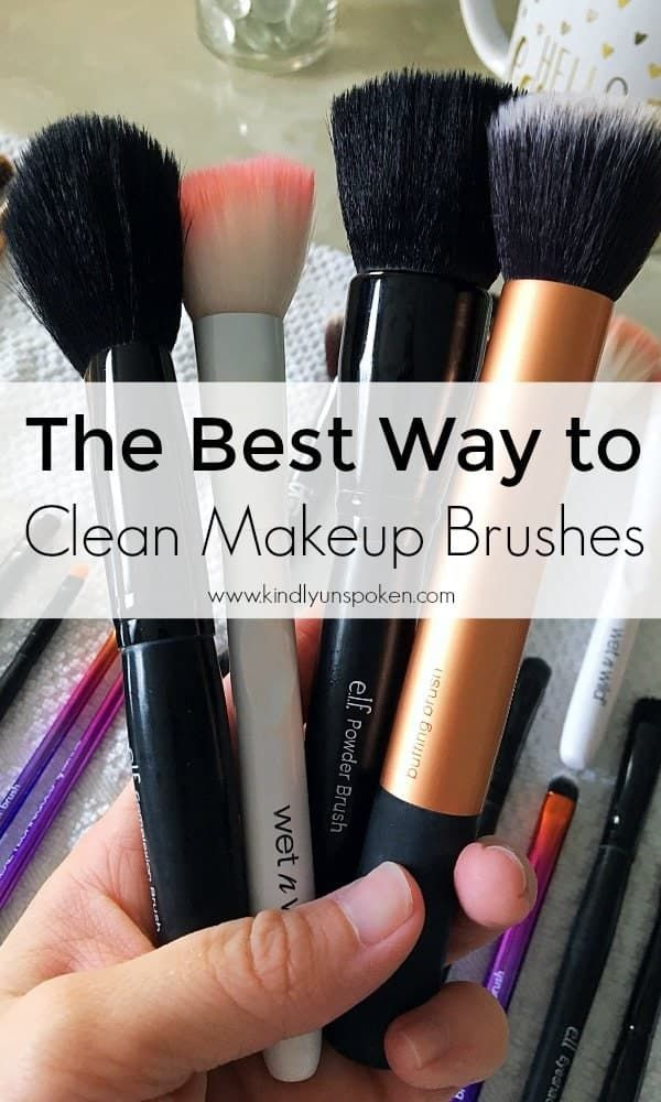 How Often You Should Clean Your Makeup Brushes And The Right Way To Do It How To Clean Makeup Brushes Makeup Brush Cleaner Makeup Brushes