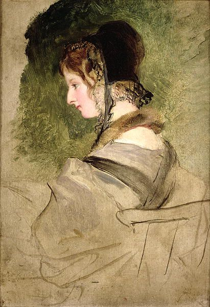 Portrait of a Woman, by Sir Edwin Landseer (British, 1802-1873).
