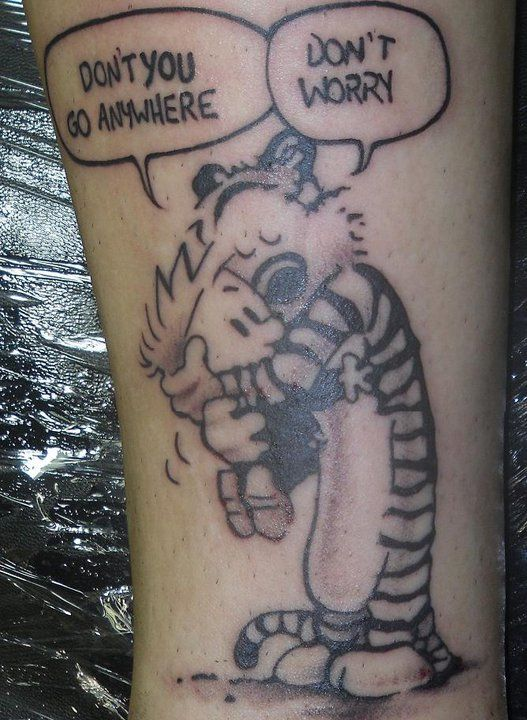 calvin and hobbes calvin and hobbes pinterest tattoo tatting and piercings. Black Bedroom Furniture Sets. Home Design Ideas