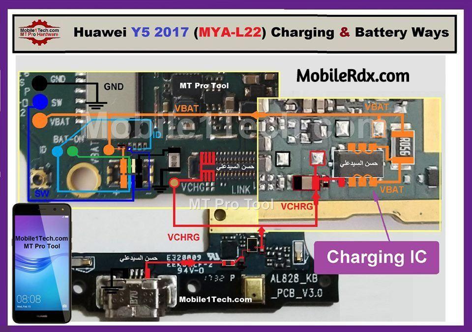 Huawei Y5 (2017) Charging Problem Solution Charging Ways