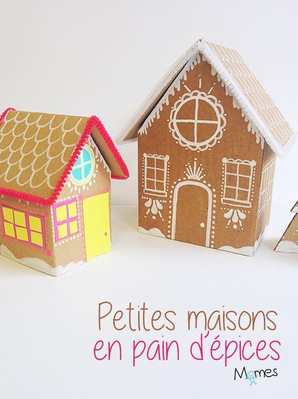 fabriquer une maison de pain d 39 pices en carton. Black Bedroom Furniture Sets. Home Design Ideas