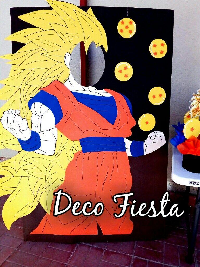 Stand Marco Para Foto Dragón Ball Pasteles De Goku Fiesta De Goku Cumpleaños De Dragón