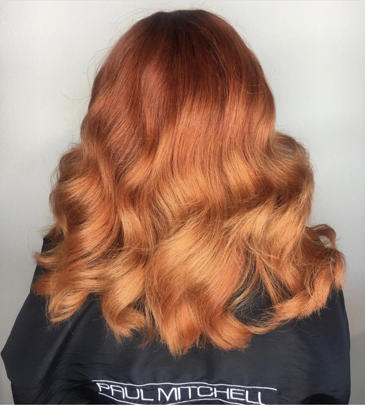 Flawless color melt Reds and coppers are perfect for your fall look
