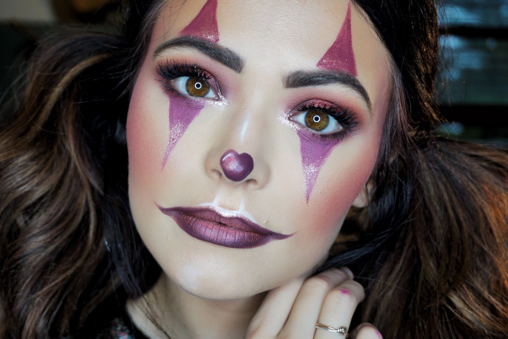 Cute Clown Makeup Tutorial