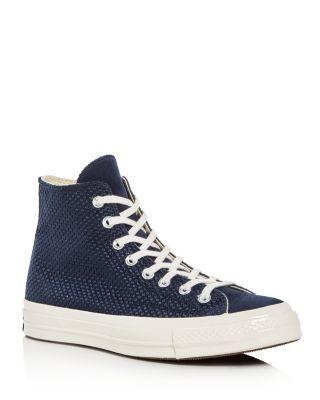 3cb68538230d CONVERSE Men S Chuck Taylor All Star 70 Woven High Top Sneakers.  converse   shoes
