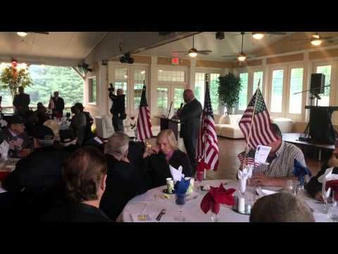 Welcoming our military veterans to the Driven By Heroes Luncheon - YouTube