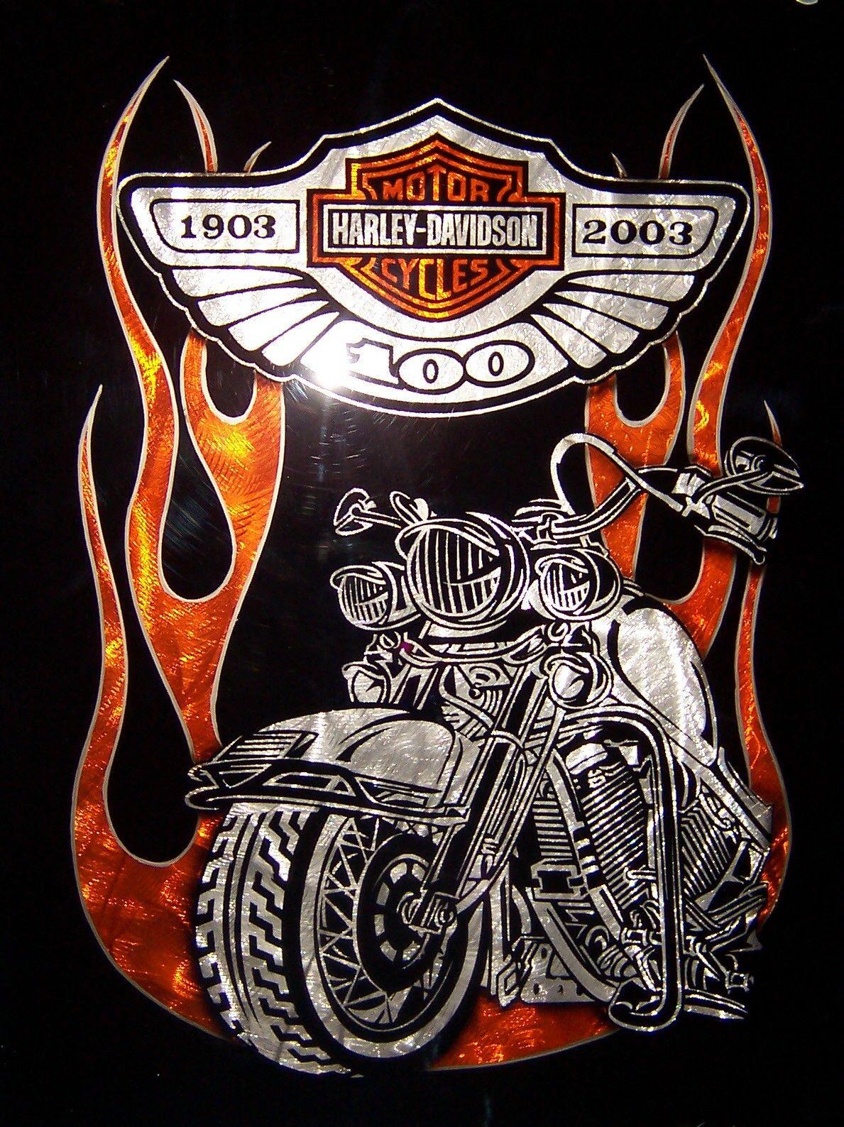 Wallpaper Motor Harley Davidson