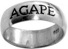 Agape Love Motif Ring in Sterling Silver $30.20