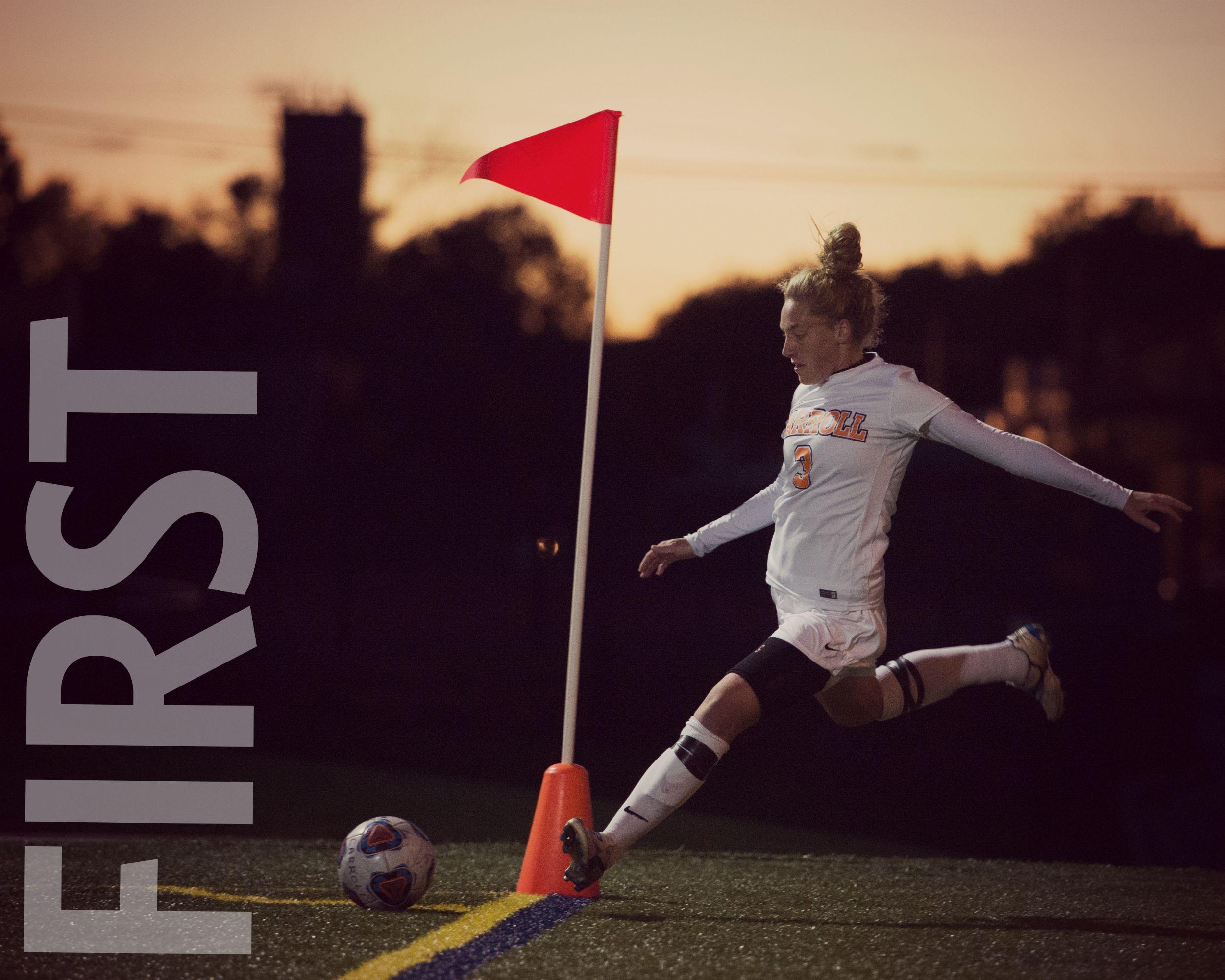 First Ever Nscaa Women S Soccer All American Carroll University Womens Soccer Soccer Coaching