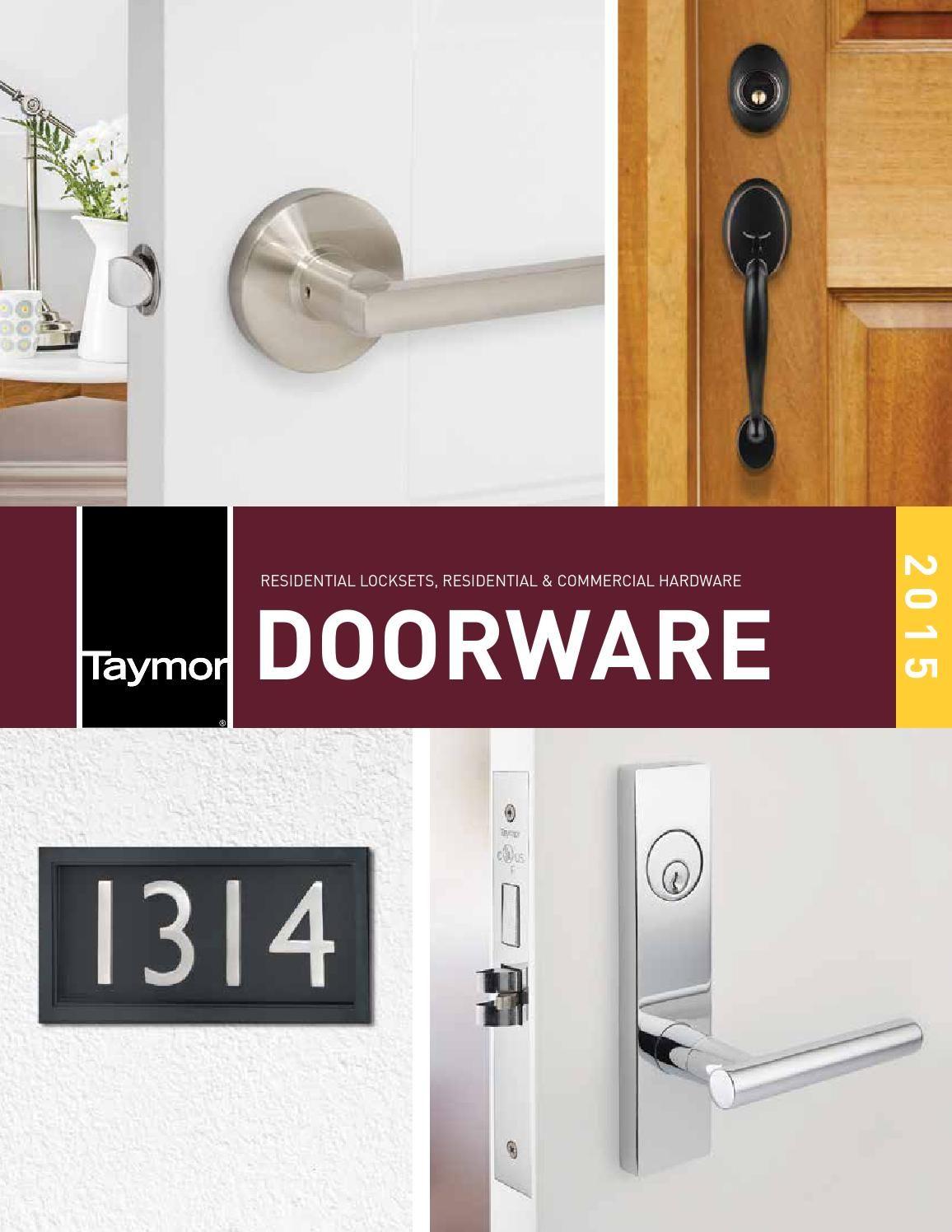 Taymor Usa 2015 Doorware Catalog With Images Catalog Bathroom