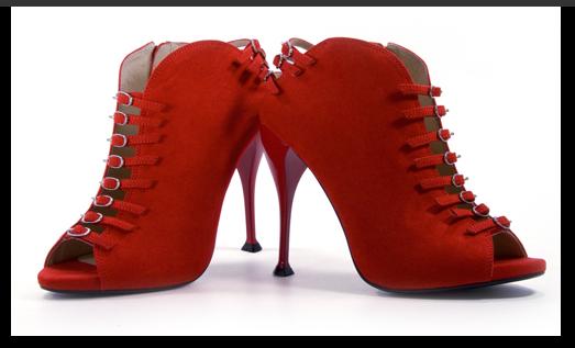 Errol Arendz 2012 shoe collection...