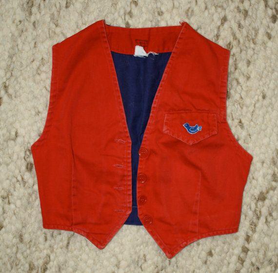 The Bluebird uniform vest. | Remember when