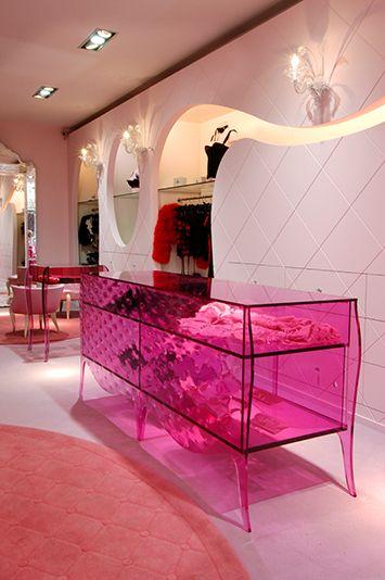 Chantal Thomass Boudoir Rue Saint Honore Mobilier Contemporain Boutique De Decoration Design
