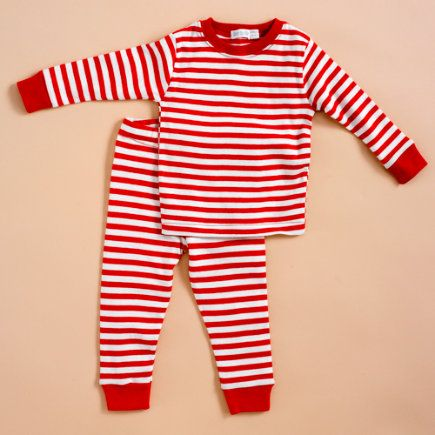 I really want to get my kids all matching red striped pajamas for ...