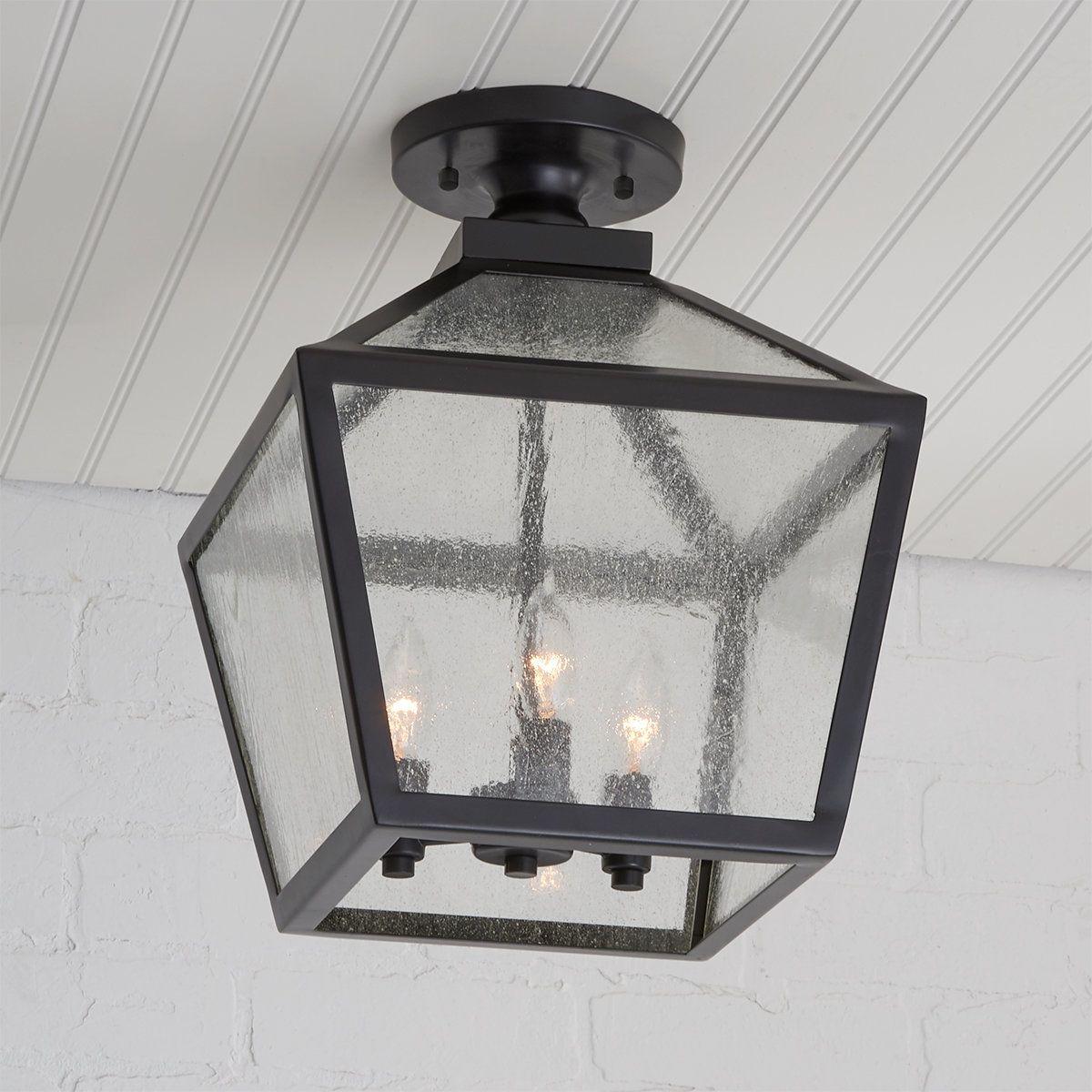 Shenandoah Outdoor Ceiling Light In 2021 Porch Light Fixtures Ceiling Lights Ceiling Mount Light Fixtures