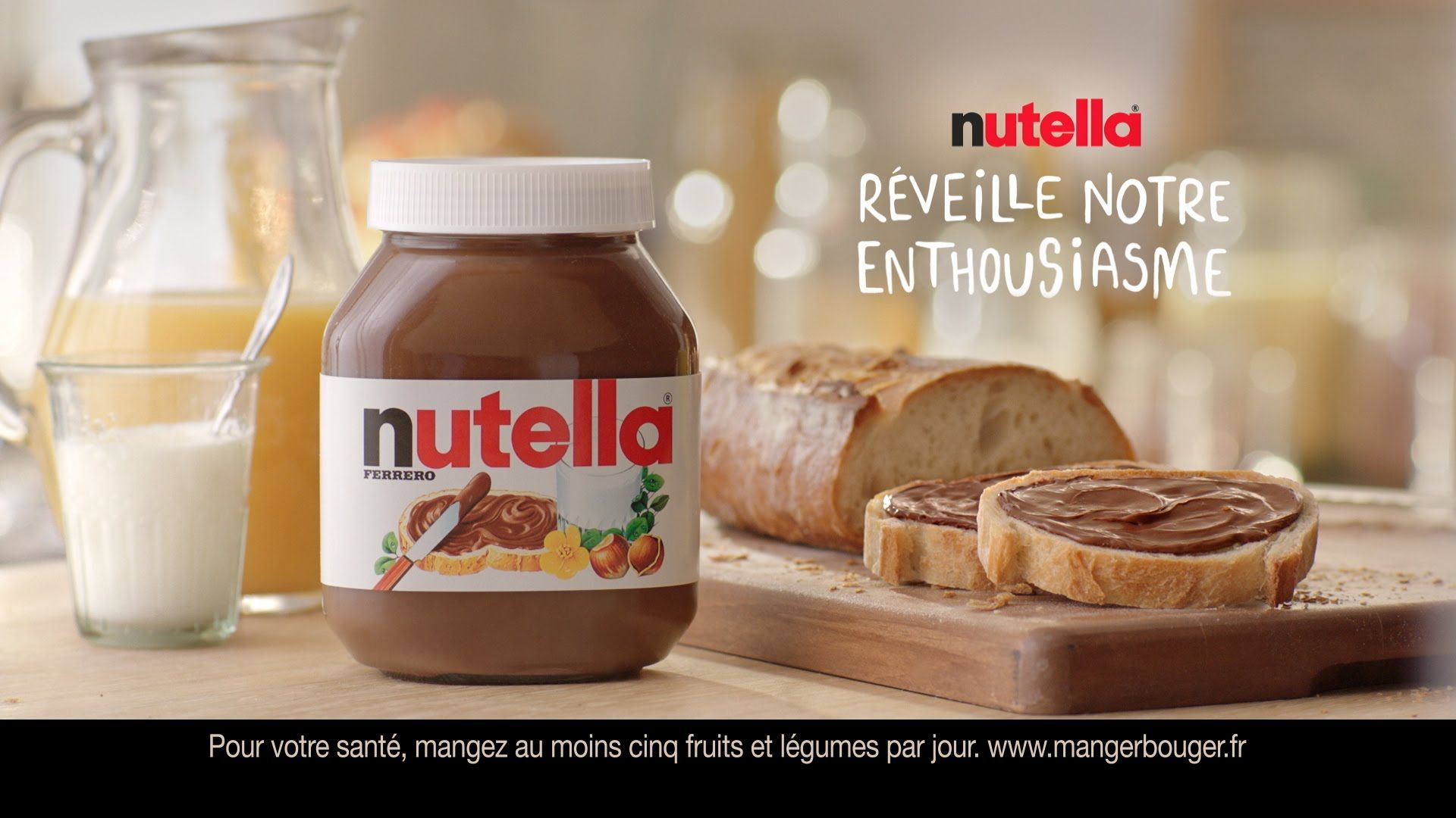 Turbo Nutella, un plaisir unique au petit-déjeuner (publicité 2015  PH88